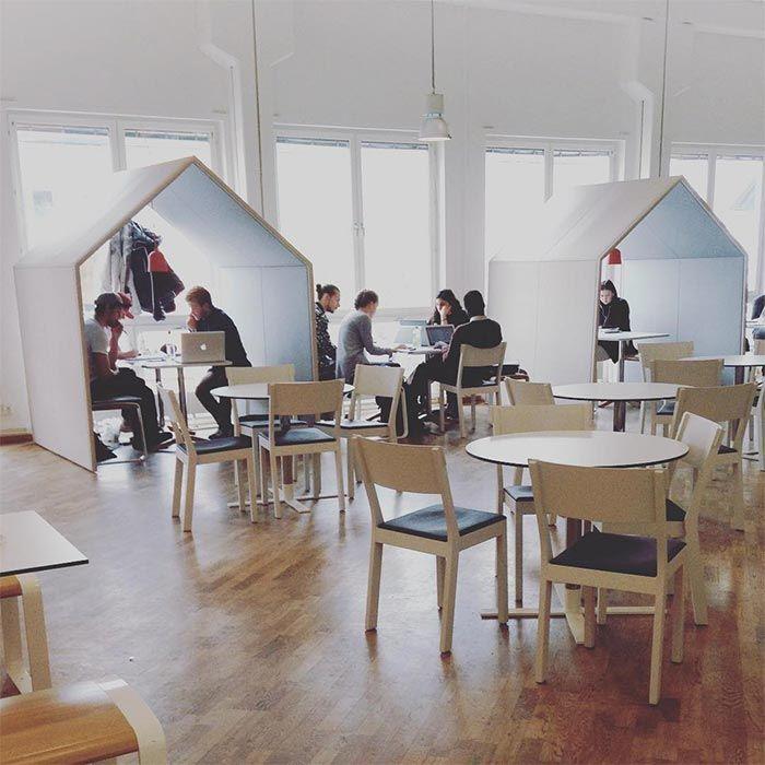 Ashington Group Meeting Hut: The Hut Office Booth