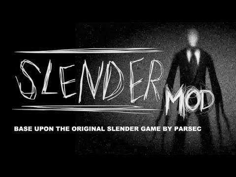 Slender Mod - New Creepy Freaky Slender Man Horror Game Let's Play