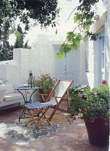 Greece κηπος Patii All Aperto E Terrazza Con Giardino