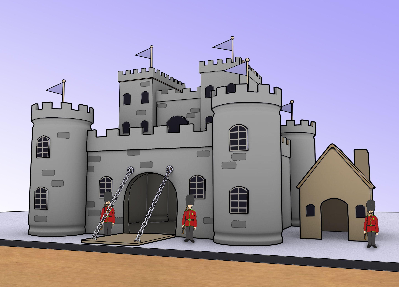 Средневекового замка своими руками фото 56