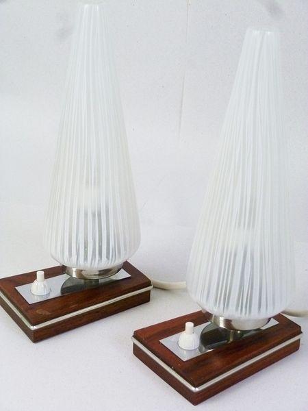 VAMPIRE HOME Vintage Nachttischlampen  von Vampire Vintage - Unique Vintage & Handmade auf DaWanda.com