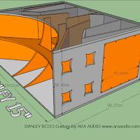 Skema Box Danley Bc215 15 Inch Speaker Audio Rangkaian Elektronik