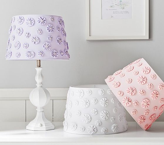 Ellery Flower Shade Kids Room Lighting Kids Lamps