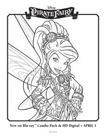 The Pirate Fairy Free Printables Activities and Downloads featuring Tinker Bell and Friends | SKGaleana