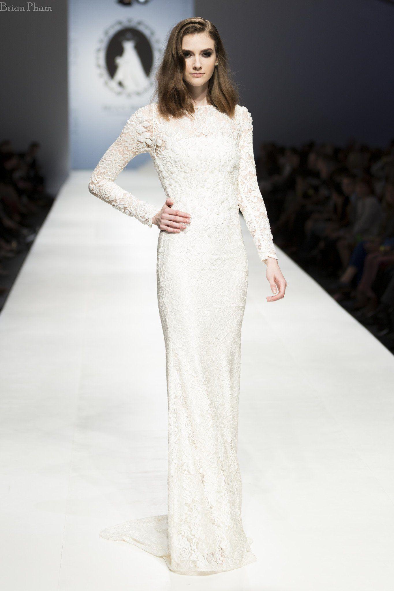 Alia bastamam wedding dress  Long Sleeve All Over Lace Wedding Dress SS  Future Wedding