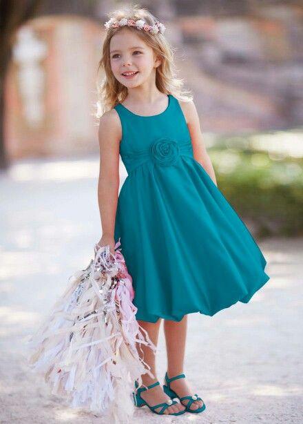 182506ba7e9 Flower Girl dress ideas David s Bridal (Oasis bubble dress)