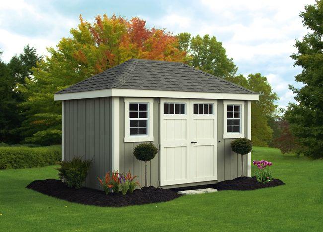 storage sheds lancaster county barns hip roof sheds