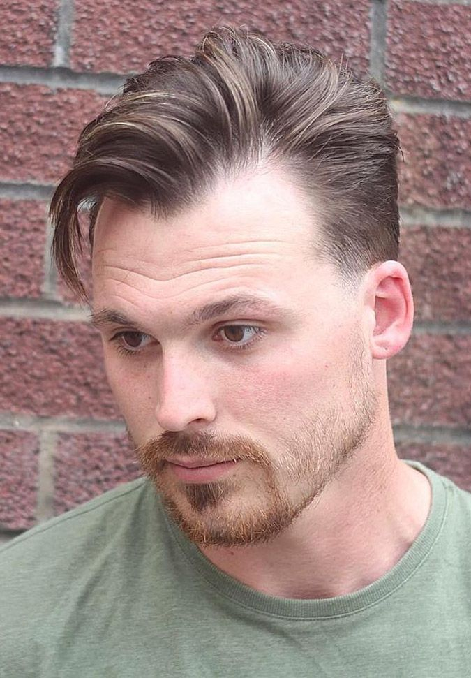 Men's Widows Peak Hairstyles Endearing 35 Best Widow's Peak Hairstyles For Men  Side Swept Haircuts And