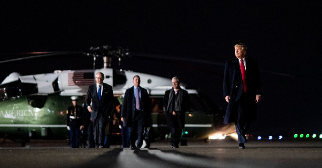 Mocked Abroad And Assailed At Home Trump Returns To Face