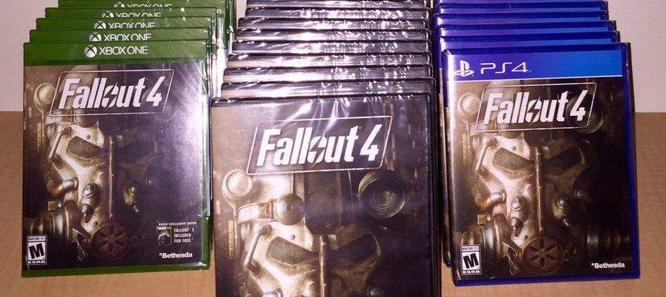 There will be 27 different ways for you to buy a standard copy of Fallout 4 on November 10. No, this isn't another Watch Dogs pre-order chartsituation -