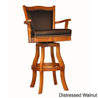 Phenomenal Whitaker Furniture Classic Leather Bar Stool Overstock Andrewgaddart Wooden Chair Designs For Living Room Andrewgaddartcom
