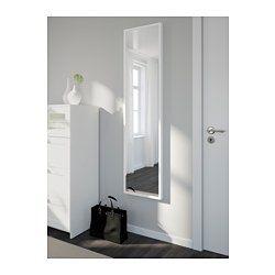 Ikea stave spegel vit 40x160 cm spegeln g r att for Miroir 40x160