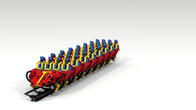 Technic Coaster Train Lego Technic Legos Coasters