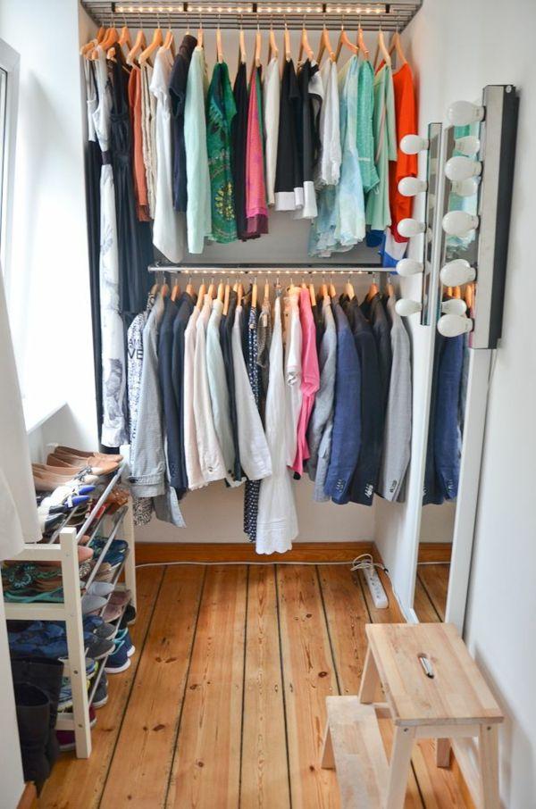 Genial Kleiner Begehbarer Kleiderschrank Selber Bauen