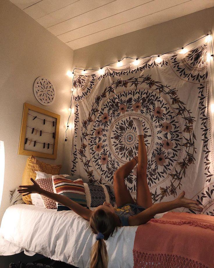 Uneingeschränkte Begeisterung für alles, was mit Grün und Gold zu tun hat! Das Baylor Proud Blog-Highli #collegedormrooms