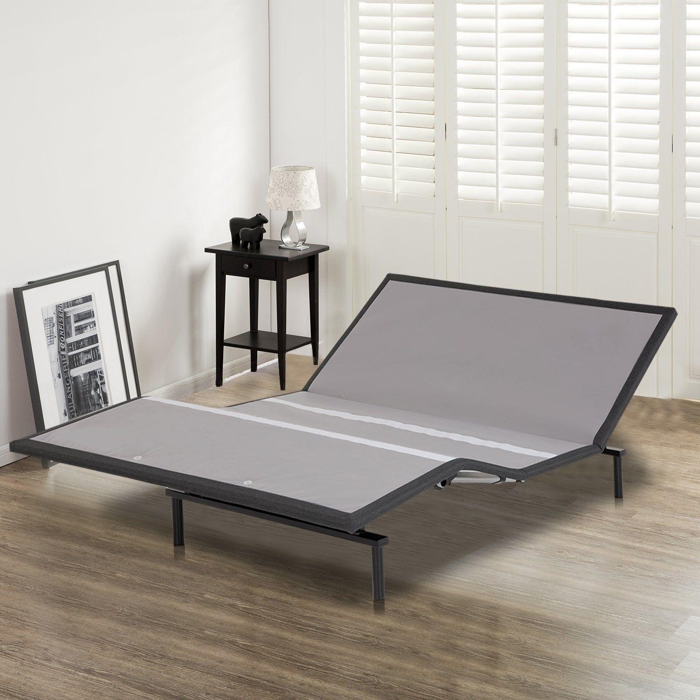 """1"""" Adjustable Comfort Posture Bed Frame with Head Tilt"""