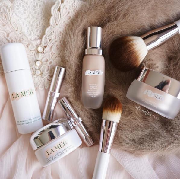 Skincolor de la Mer Luxury makeup, Makeup collection