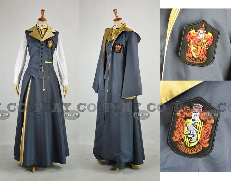 2669a702cb9e0 Hannah Cosplay (Hufflepuff Uniform) from Harry Potter - DO WANT. In  Slytherin