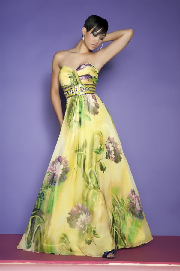 vestidos dama de honor plomo y amarillo - Buscar con Google ...