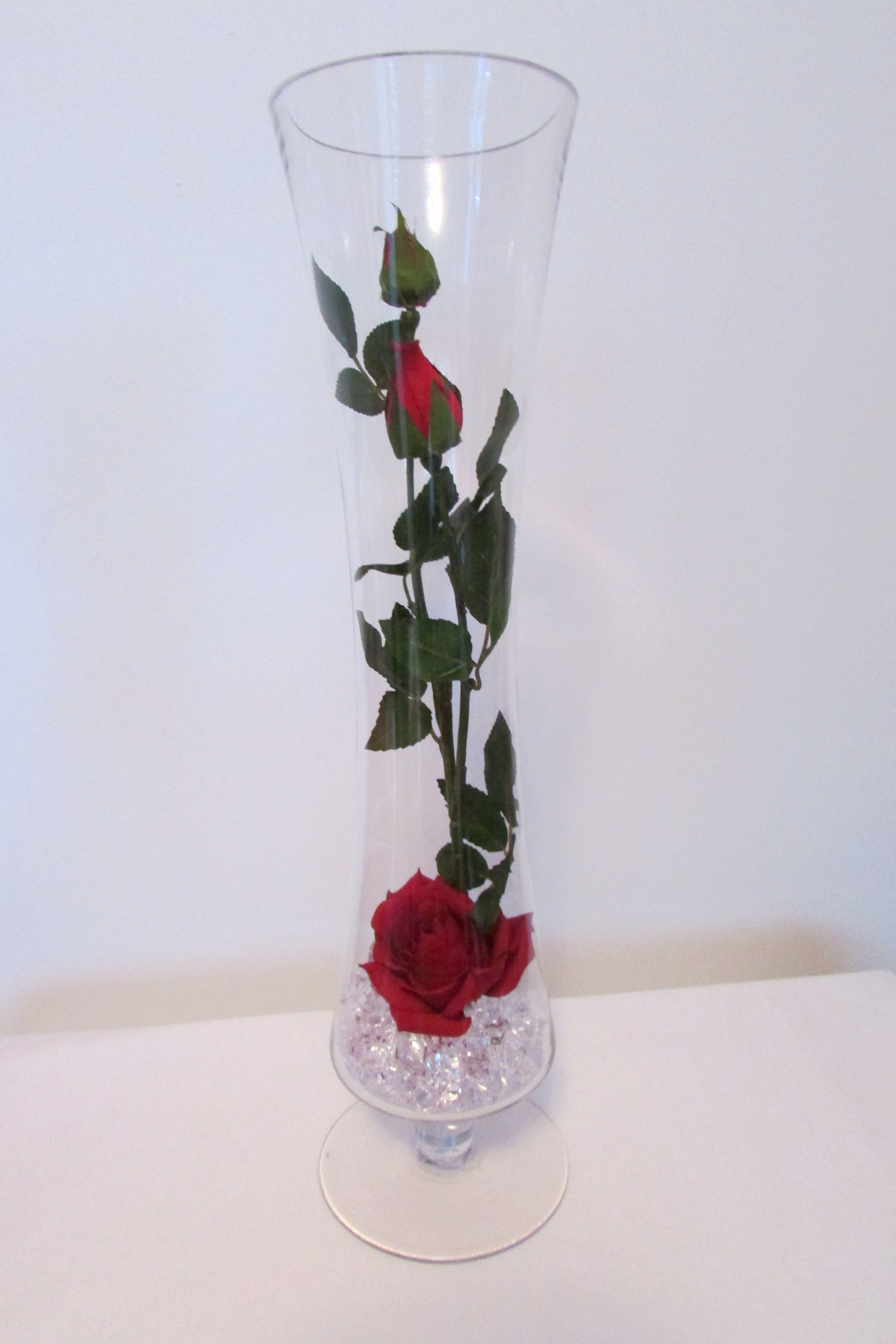 Red Roses in a Tall Vase Great Gift Idea for Mother\'s Day   vases ...