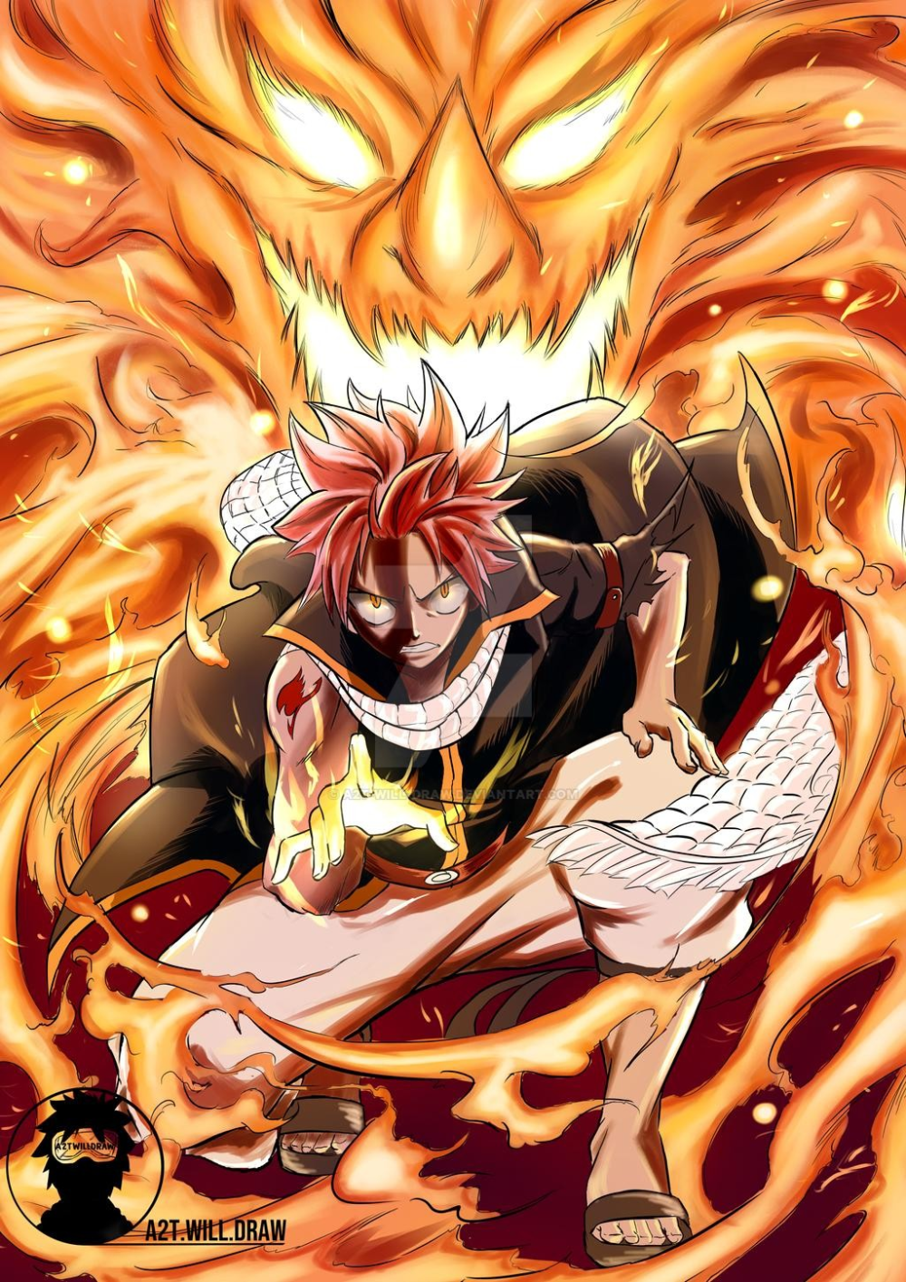 Speed Drawing Natsu Dragneel Fairy Tail By A2t Will Draw On Deviantart Natsu Fairy Tail Fairy Tail Pictures Fairy Tail Dragon Slayer