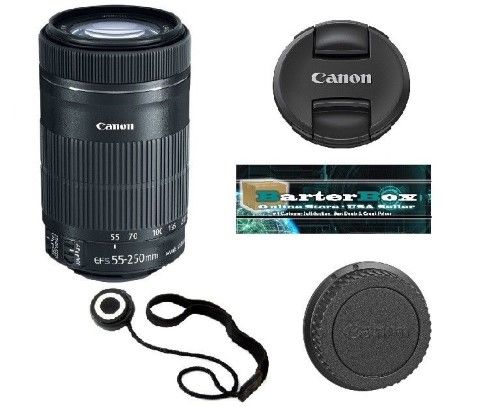 Sale 55 250 Canon Ef S 55 250mm F 4 0 5 6 Stm Is Lens 8546b002 Free Lens Cap Canon Ef Canon Lens