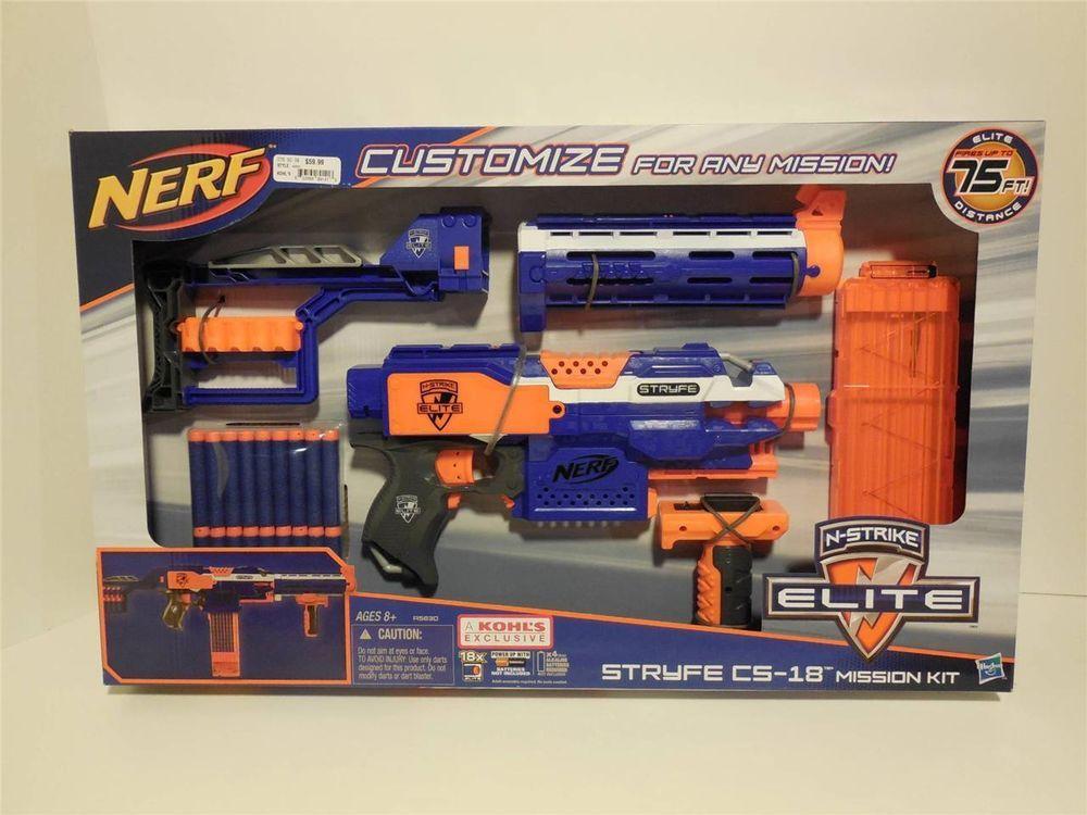 nerf nstrike elite stryfe cs18 mission kit toy dart gun