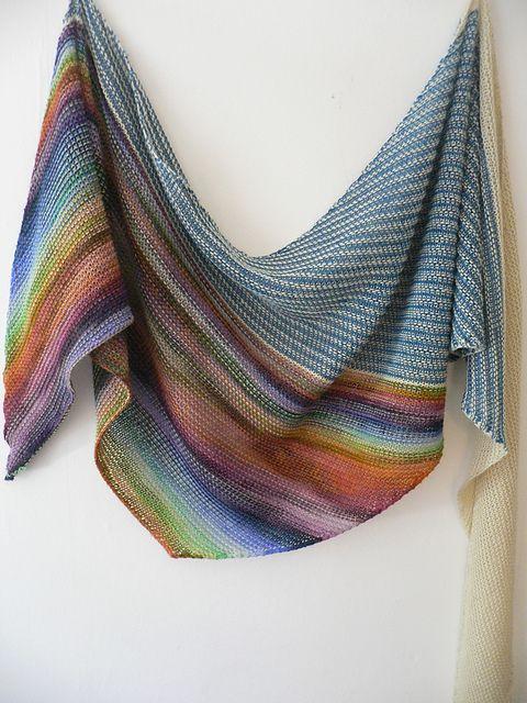 Colorful Shawl Knitting Patterns KNITTING Pinterest Knitting Cool Free Shawl Knitting Patterns