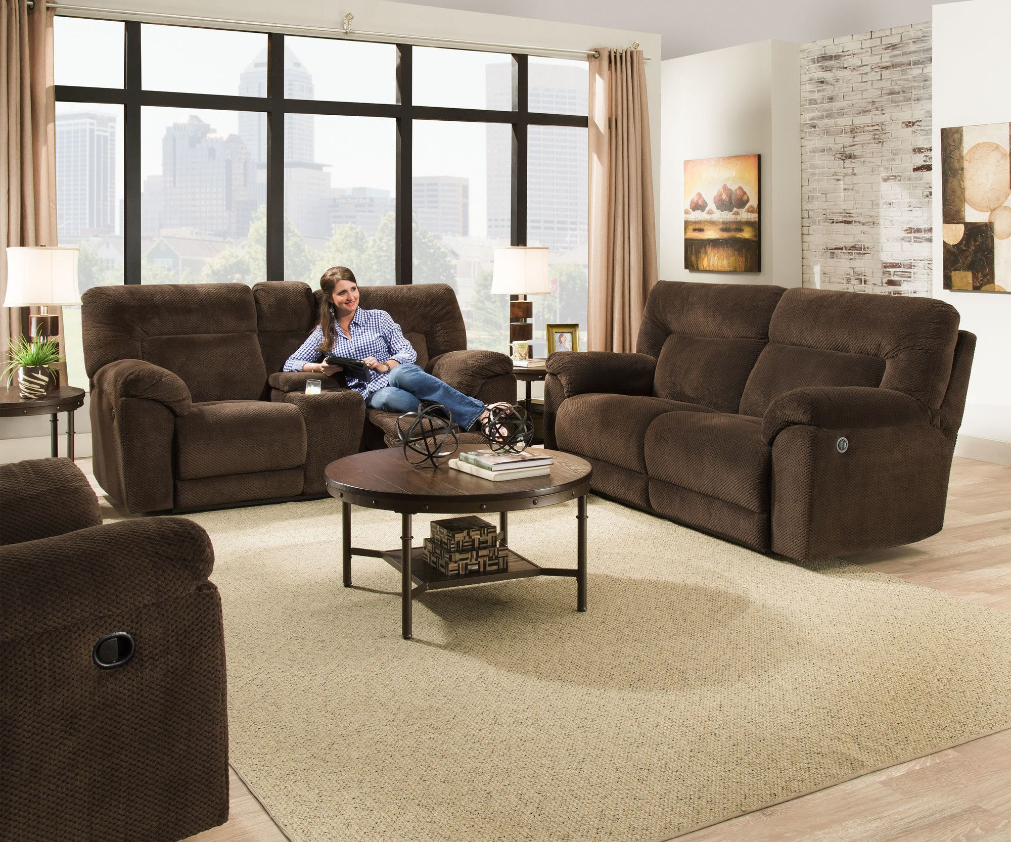 Best Madeline Swivel Glider Recliner Cheap Living Room Sets 640 x 480
