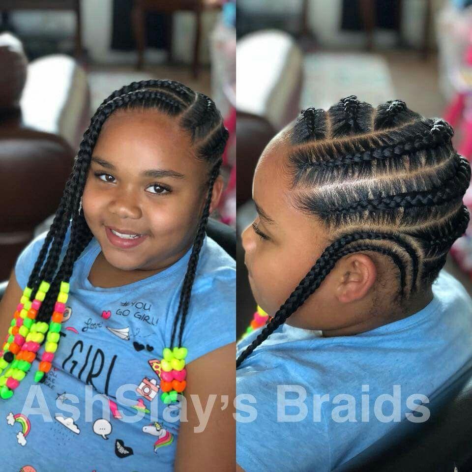 Cute Natural Hair Black Girl Hairstyles Braids For Kids
