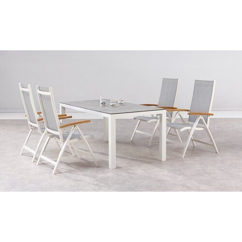 Sol 72 Outdoor Gladeview 4 Seater Dining Set Dining Set Corner