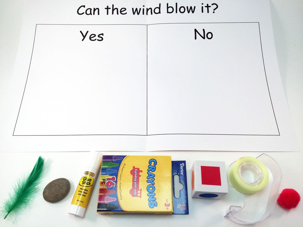 Can The Wind Blow It Experiment A Science And Math
