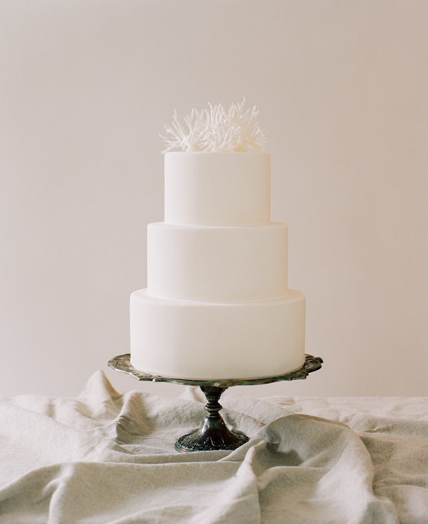 simple coral cake topper   The Cake. x   Pinterest   Coral cake ...