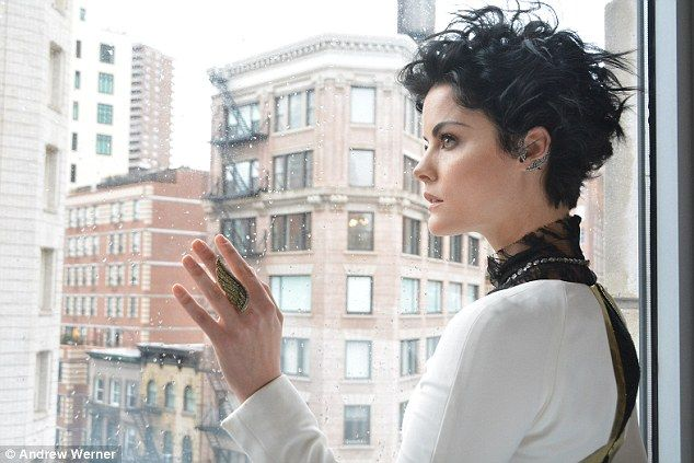 Jaimie Alexander shows off her edgy sartorial styl