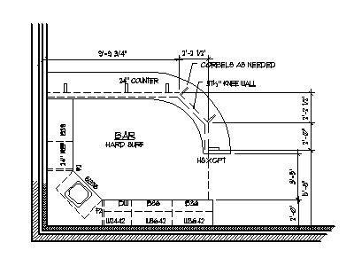 Image Result For Curved Bar Top Details Basement Bar Designs Floor Plan Layout Bar Design