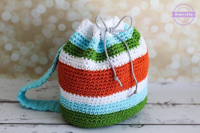 Grayson\'s Crochet Little Kid Backpack