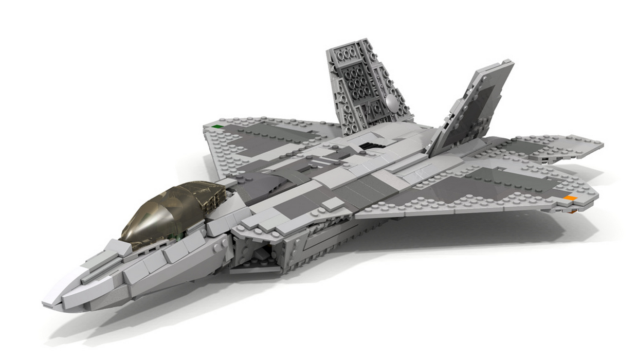 F 22 Raptor   LEGO    Pinterest   Lego  Legos and Lego military F 22 Raptor