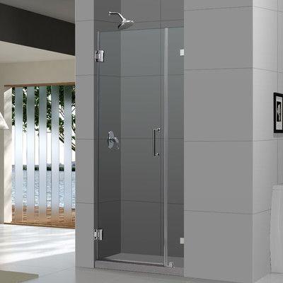 Dreamline Unidoor Lux 48 X 72 Hinged Frameless Shower Door Trim