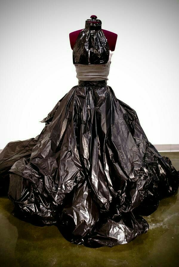 Trash Bag Dress
