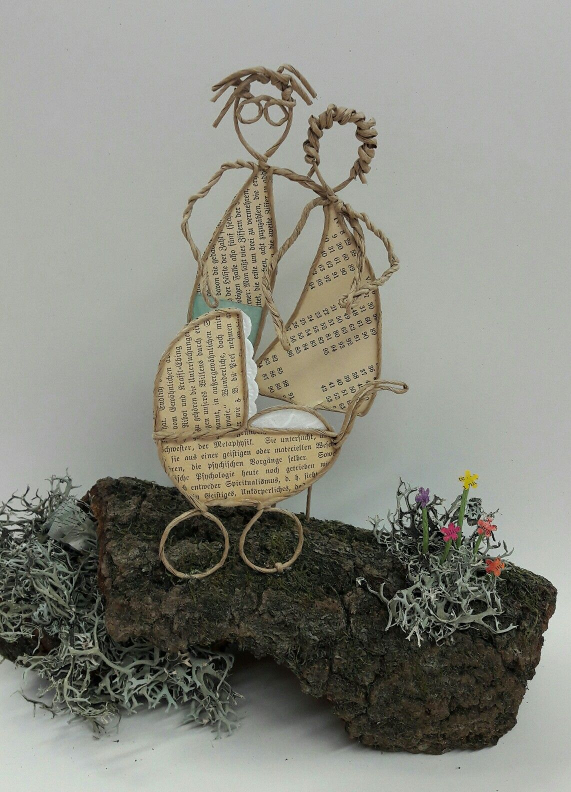 Papierdraht von Gisi   draht...   Pinterest   Wire art, Crafts and ...
