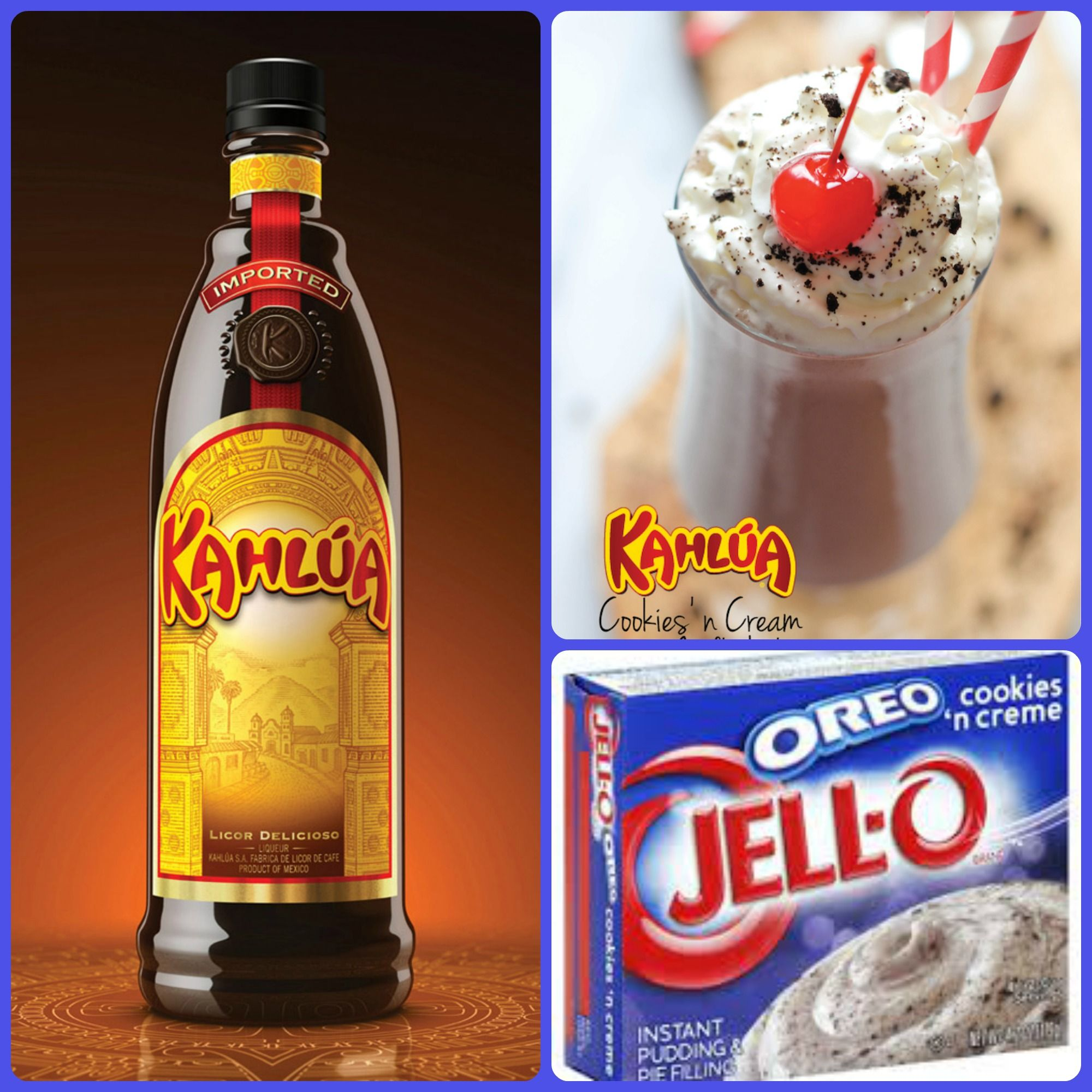 Kahlua Cookies And Cream Pudding Shots 1 Small Pkg