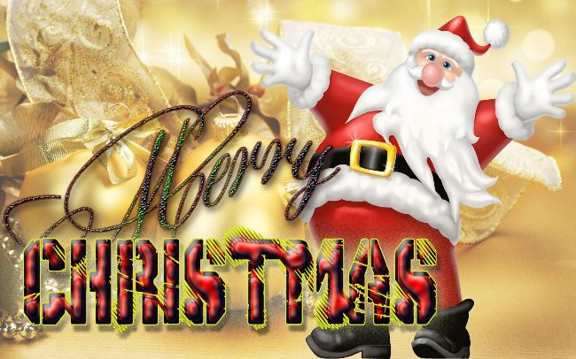 Hi Dear Lover Of The Happy Merry Christmas Day Wallpaper