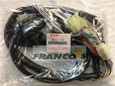 Genuine Suzuki Gt250 X7 Wiring Loom Harness 36610 11302 Suzuki Harness Ebay