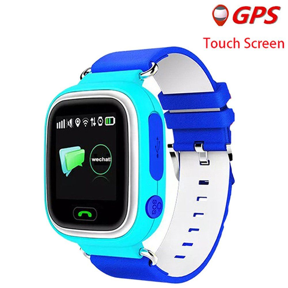 Dxrise Q90 Gps Samrt Watch For Kids Sim Card Smartwatch Phone Anti Lost Finder With Sos Call Children Wristwatch Smart Watch Gps Tracker Watch Wearable Device