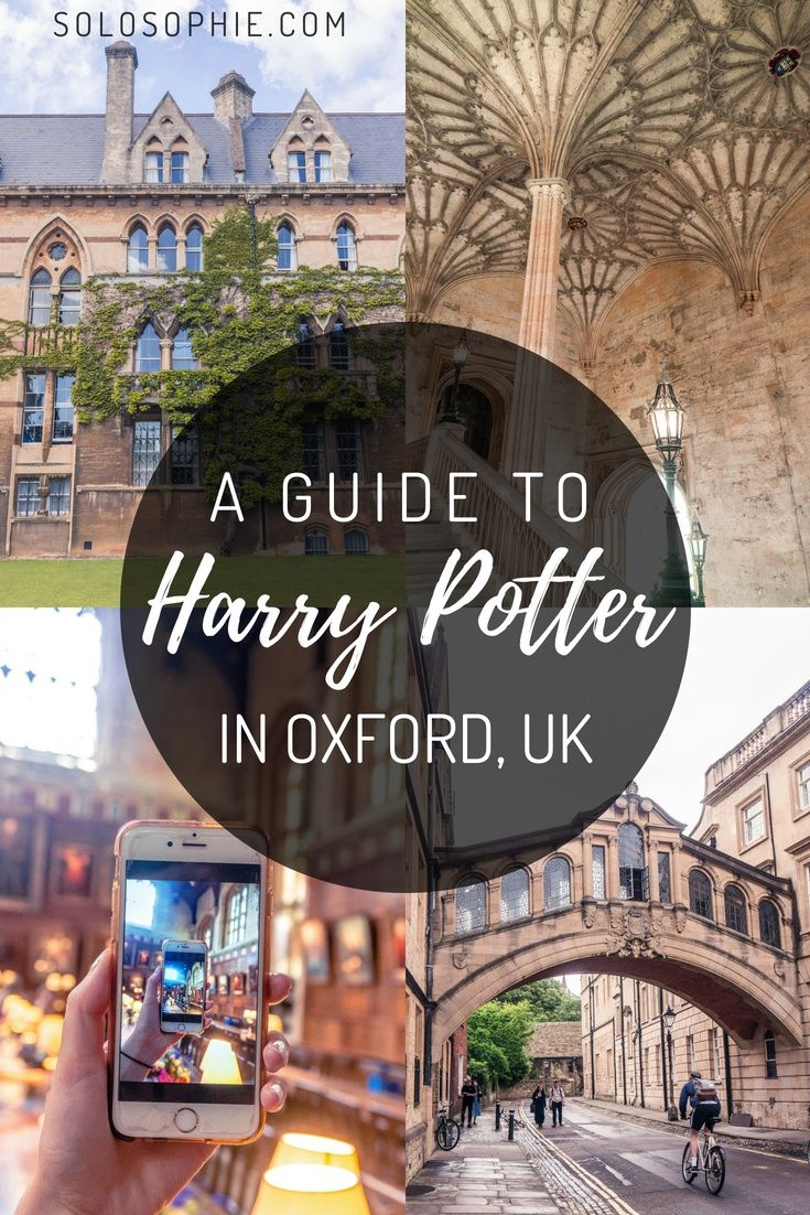 Self-Guided Tour to the Best of Harry Potter in Oxford #travelengland