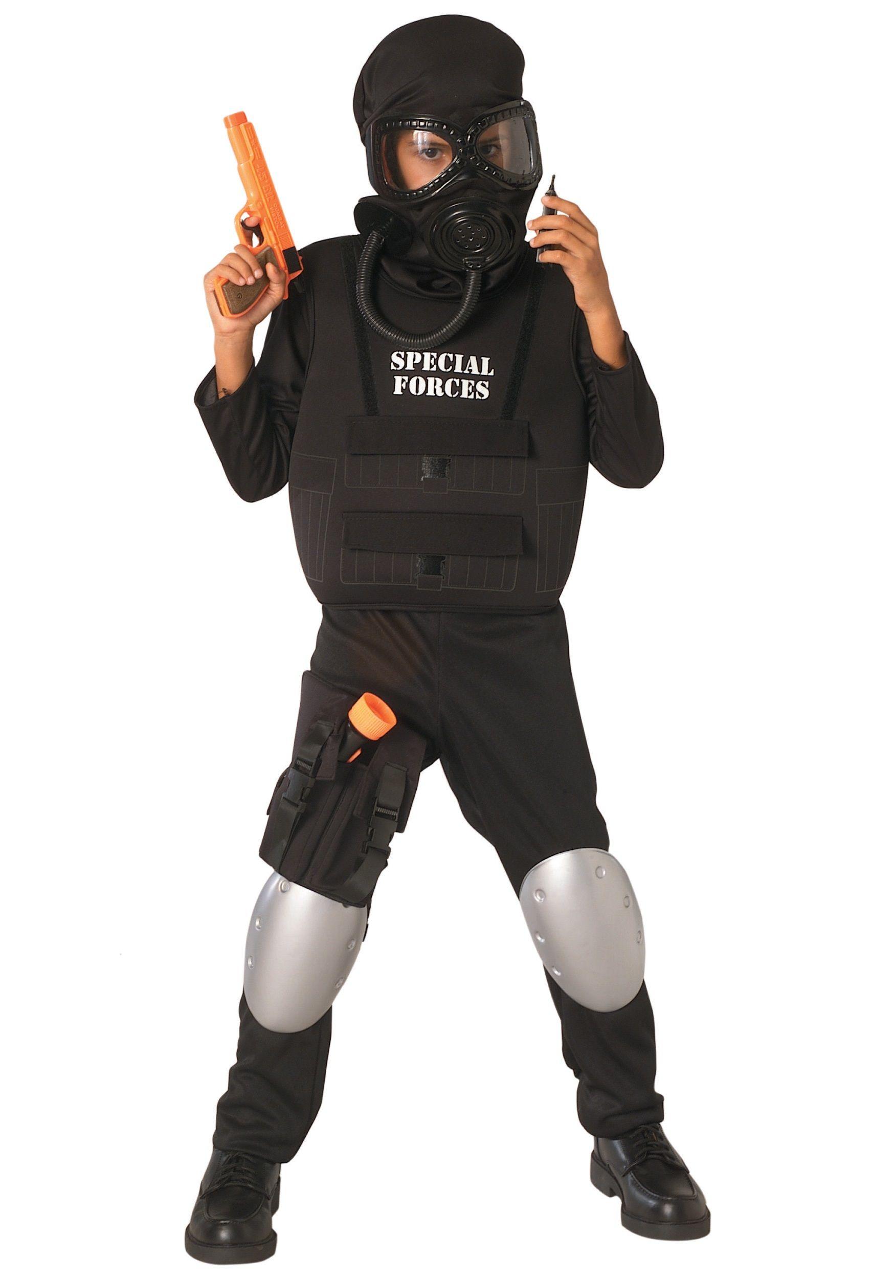 Child Special Forces Costume Kostüm junge, Kinder kostüm