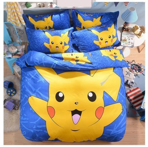 Duvet Bedding Sets Queen, Pokemon Bedding Queen Size