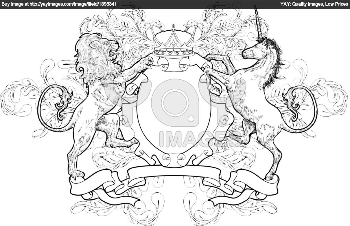 monochrome lion and unicorn coat of arms 155645 jpg 1 210 780