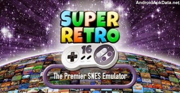 Superretro16 Snes Emulador Apk V2 0 3 Mod 836 Roms Mega