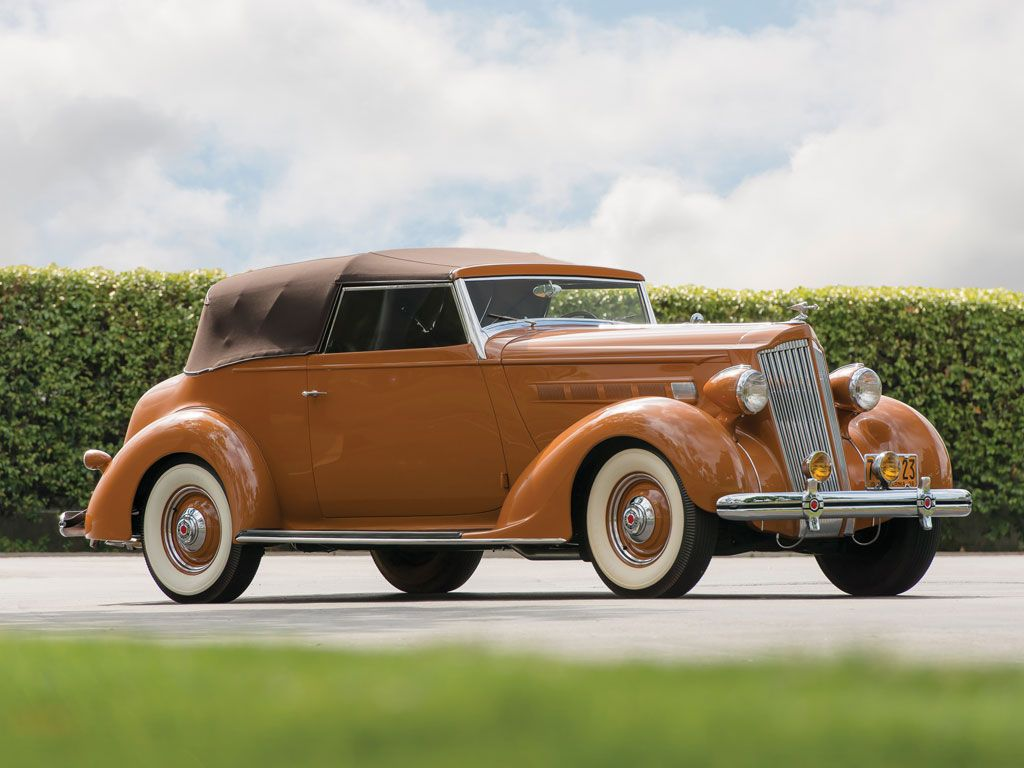 1936 packard one twenty convertible victoria at monterey rm auction this summer you can lease. Black Bedroom Furniture Sets. Home Design Ideas
